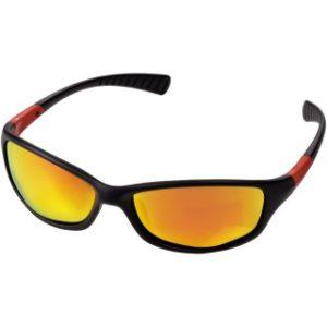 Sluneční brýle z matného černého plastu